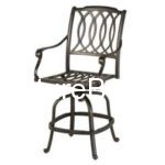 Swivel Bar Iron Chair Furniture