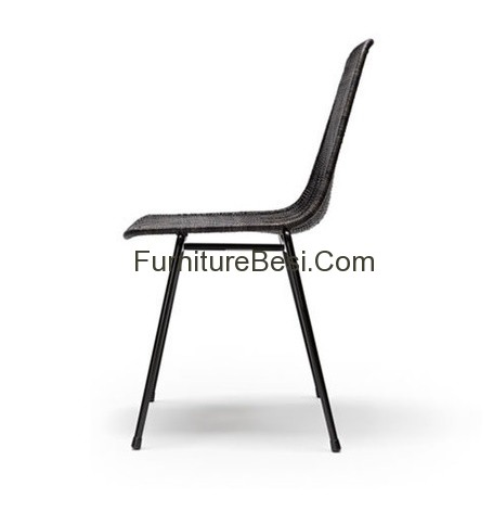 Basket Chair Rattan Furniture Iron