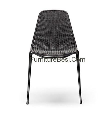 Iron mix rattan furniture villa and resort