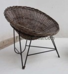 Iron mix rattan synthetic furniture hotel