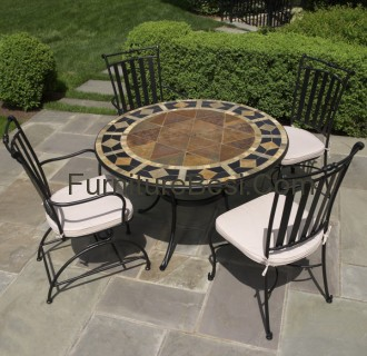 Mosaic patio furniture clearance ideas