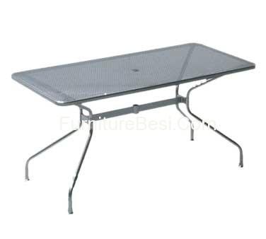 Octagonal Table Iron Furniture Resort