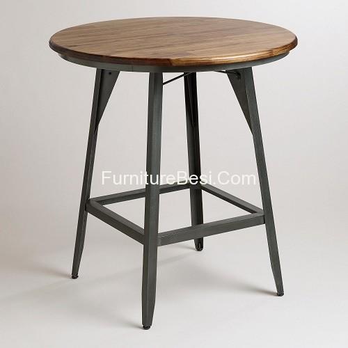 Table Bar Chair Furniture Iron