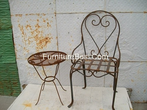 Terrace Set Furniture Villa