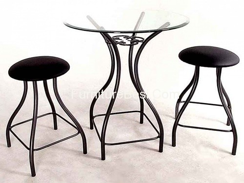 wrought iron furniture wrought iron tall bistro table