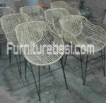 The New Combination Of Iron And Rattan Furniture