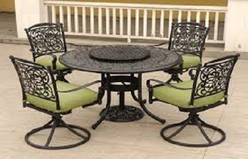 Melano Iron Dining Set