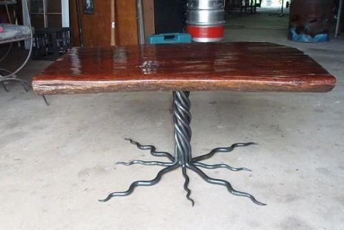 Milano Table kombinasi Kayu Furnitur