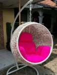 Cheap Synthetic Rattan Hanging Swing Cheap