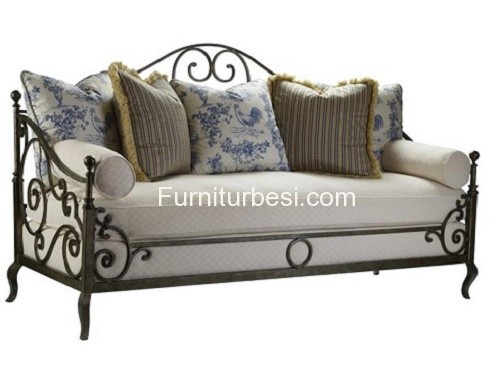 Iron Sofa Chair Suitable For Home Room Mini Malis