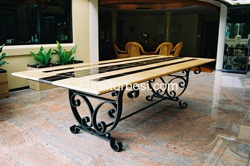 Metal Table For Your beautiful Dining Room