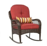 Rocking Chair Synthetic Rattan Bestseller Export market