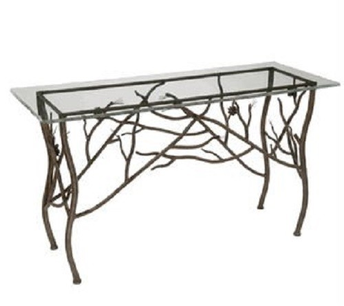 Table Iron Frame Forms Twig Tree Order Japan