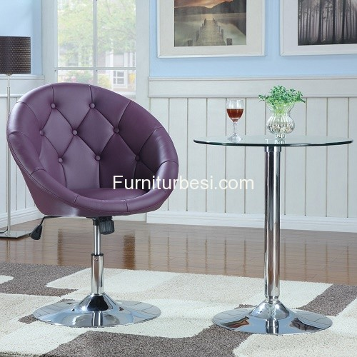 Chairs Plosa Purple Set For Bar and Villa