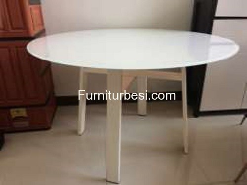White table furniture for Villa Bali