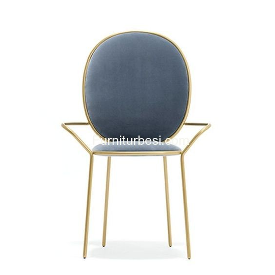 Dining Chair Metal Metal For Apartment