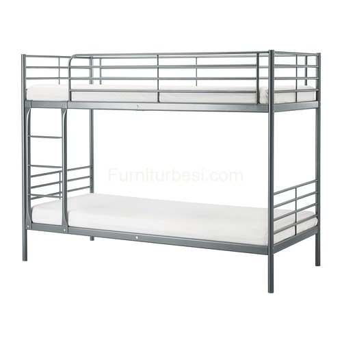Gray Savarta Bed Frame Level