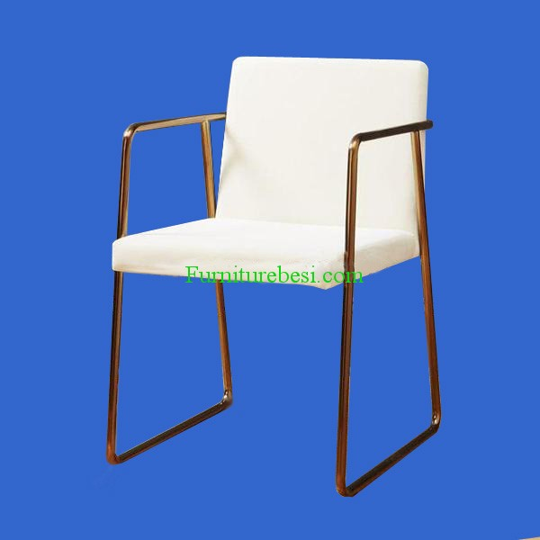 Cafe Chair frame Stainless Furniture Gold
